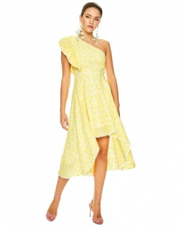 Talulah Yellow Margarita Midi Dress