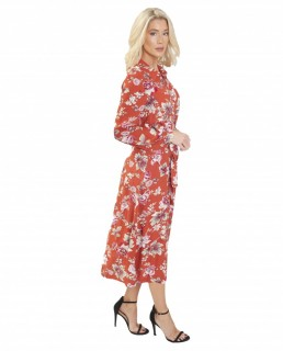 French Connection Aletta Crepe Midi Shirt Dress