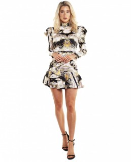 Bardot Scarf Shirt Dress