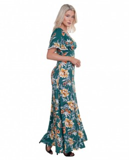 French Connection Evergreen Claribel Floral Maxi