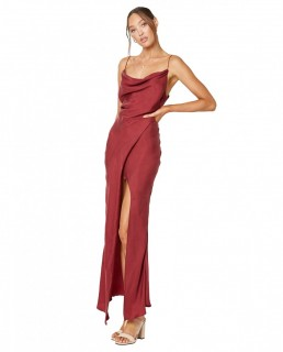 Winona Wine Mezzo Maxi Dress