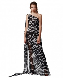 LEXI Zola Stripe Maxi Dress