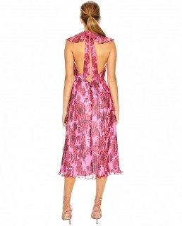 Talulah Pink Rose All Day Midi Dress