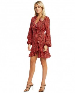Bardot Nora Wrap Dress