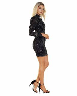 Bardot Constellation Dress