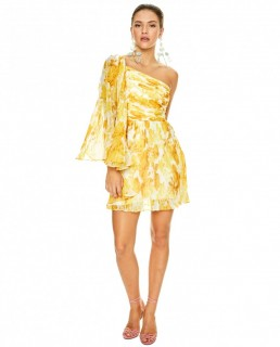 Talulah Yellow Sunshine Mini Dress