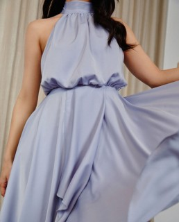 TwoSisters The Label Periwinkle Kat Midi Dress