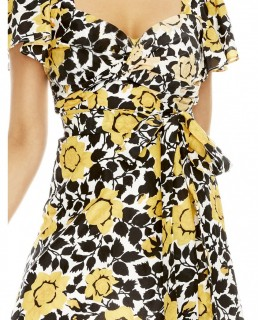 Talulah Fields Of Gold Mini Dress