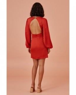 Finders Keepers Red Gabriella Mini Dress