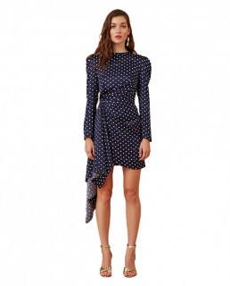 Keepsake The Label Polka Dot Foolish L/S Mini Dress