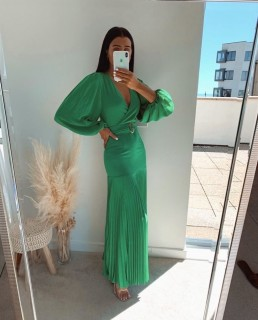 Bardot Emerald Daytona Dress