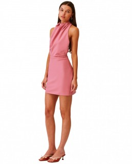 Finders Keepers Pink Mae Mini Dress