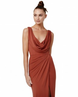 LEXI Terracotta Naida Dress