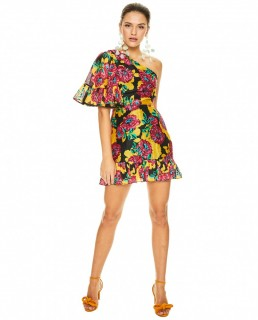 Talulah Floral Barcelona Bloom Mini Dress