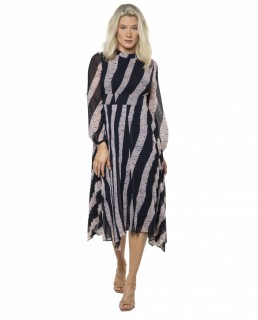 Whistles Shibori Print Dress