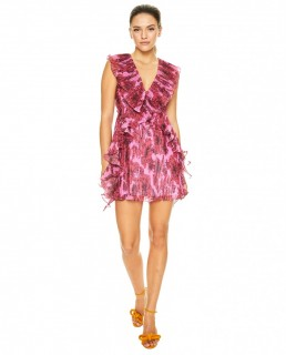 Talulah Pink Rose All Day Mini Dress