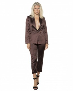 Runaway The Label Chocolate Effie Co-Ord