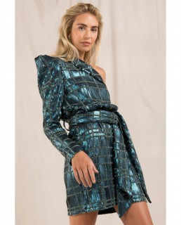Misha Emerald Samara Dress