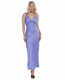 Rat & Boa Purple Violeta Dress