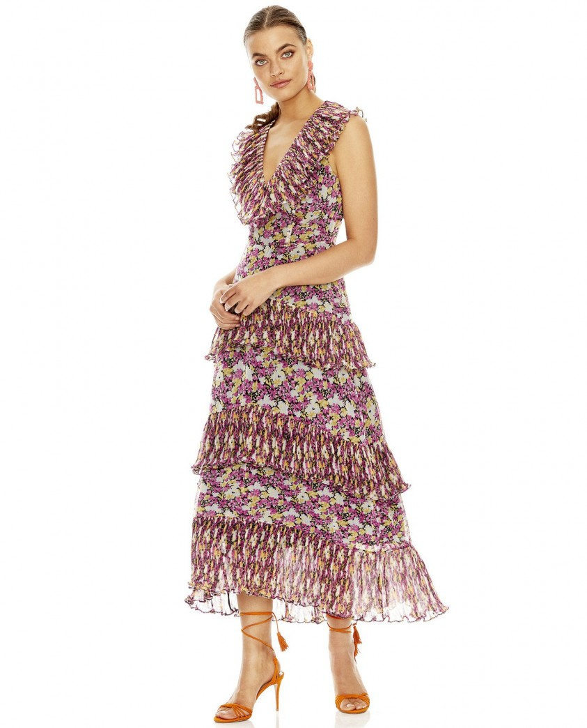 Talulah Shake It Out Midi Dress