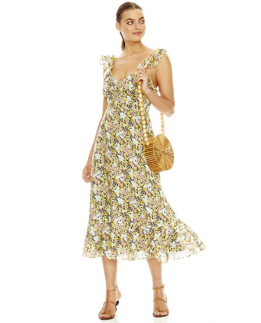 Talulah Sunny Days Midi Dress