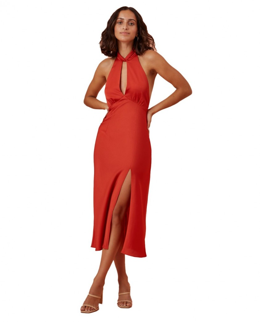 Finders Keepers Red Gabriella Dress
