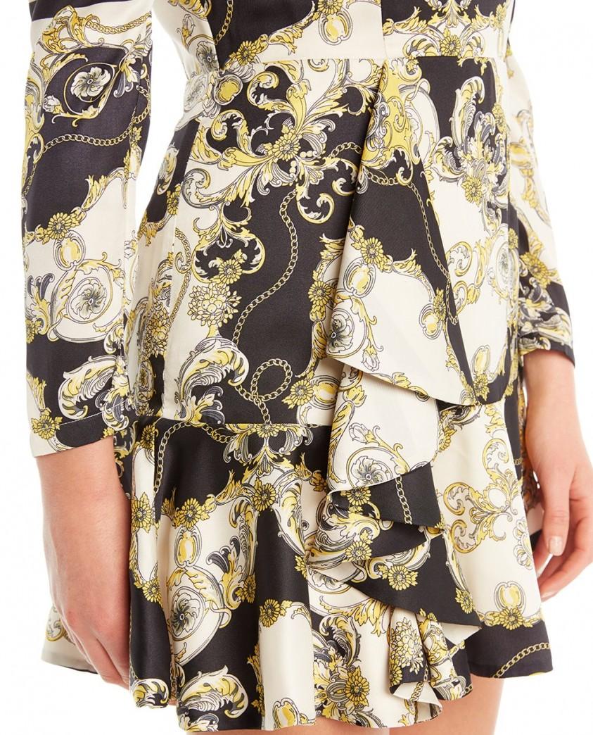 Bardot Scarf Shirt Dress