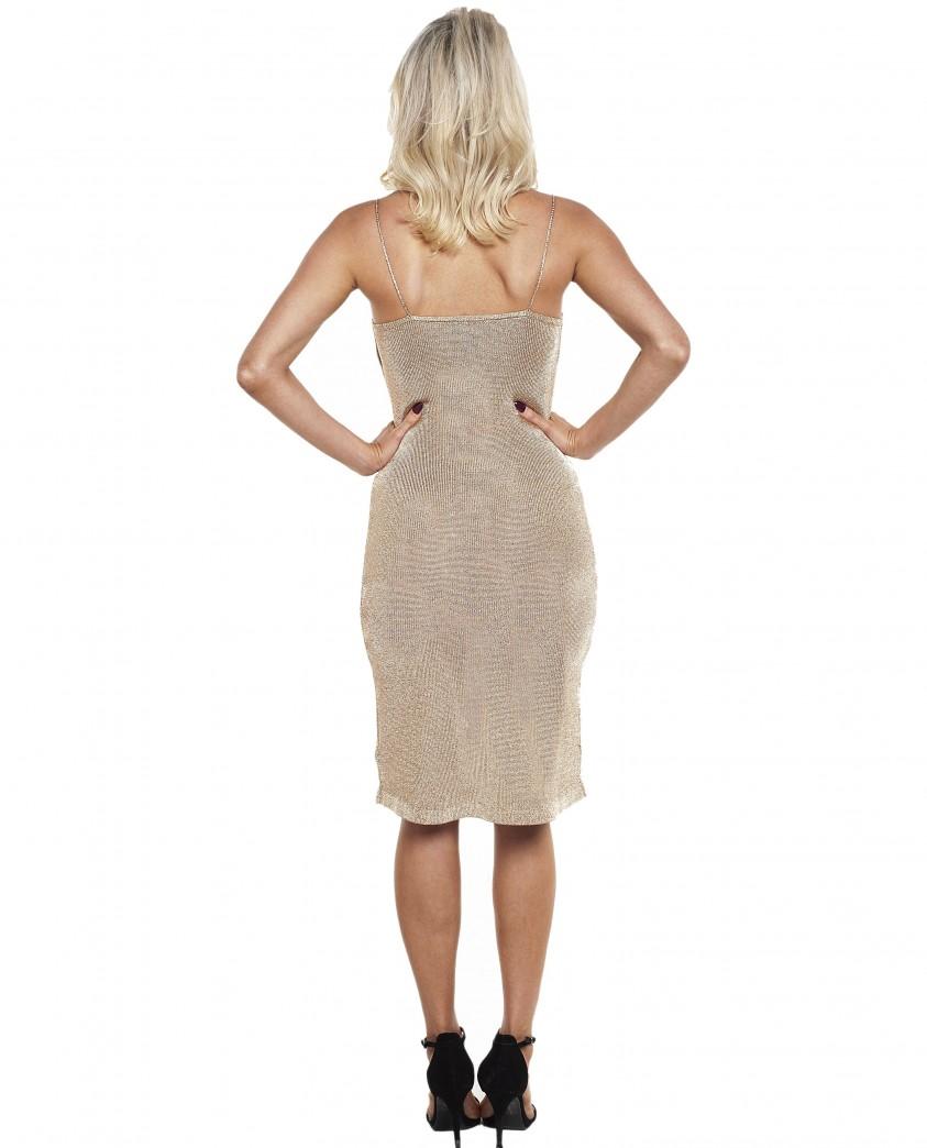 Bardot Dani Lurex Knit Dress