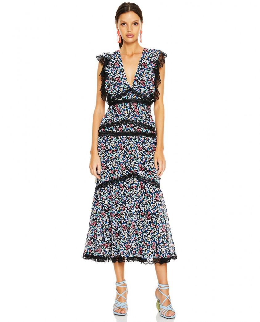 Talulah Dreamscape Midi Dress