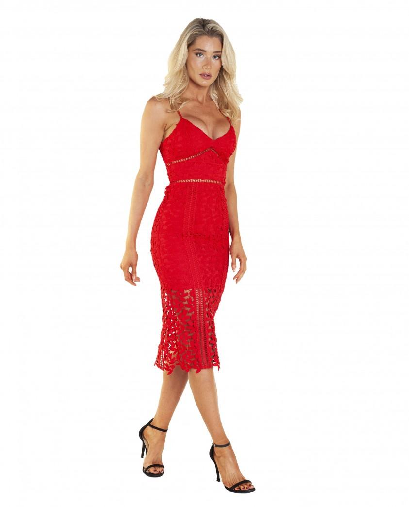 Bardot Roxy Lace Dress