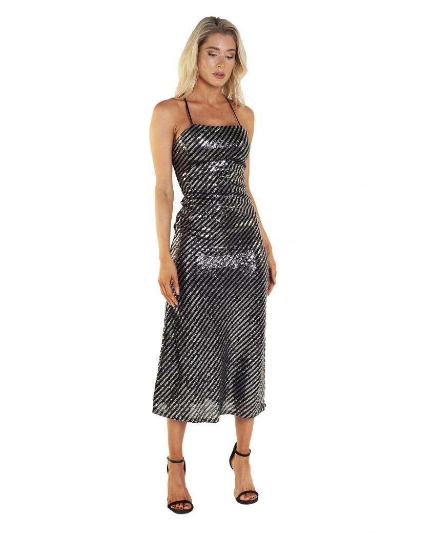 Bardot Stripe Sequin Stripe Slip