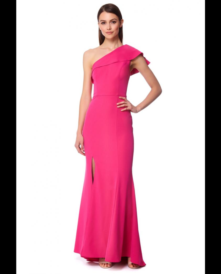 Jarlo Sydney Fuchsia Maxi Dress