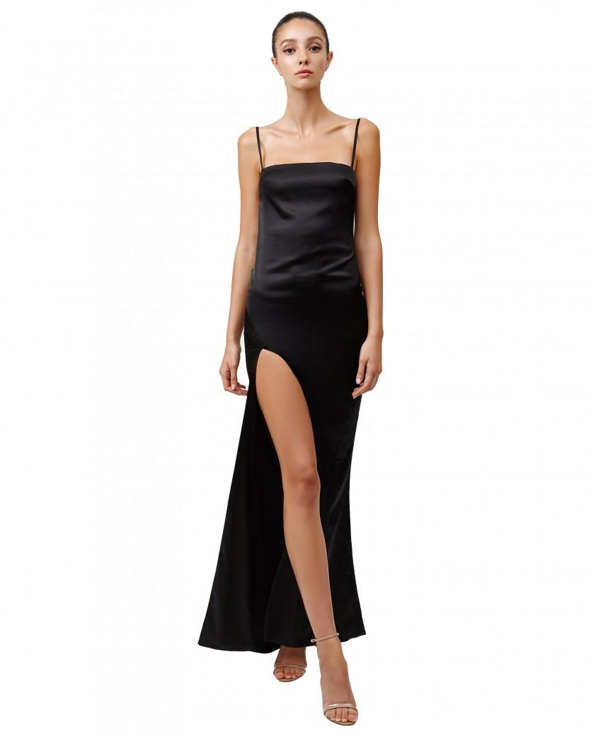 LEXI Estel Dress In Black