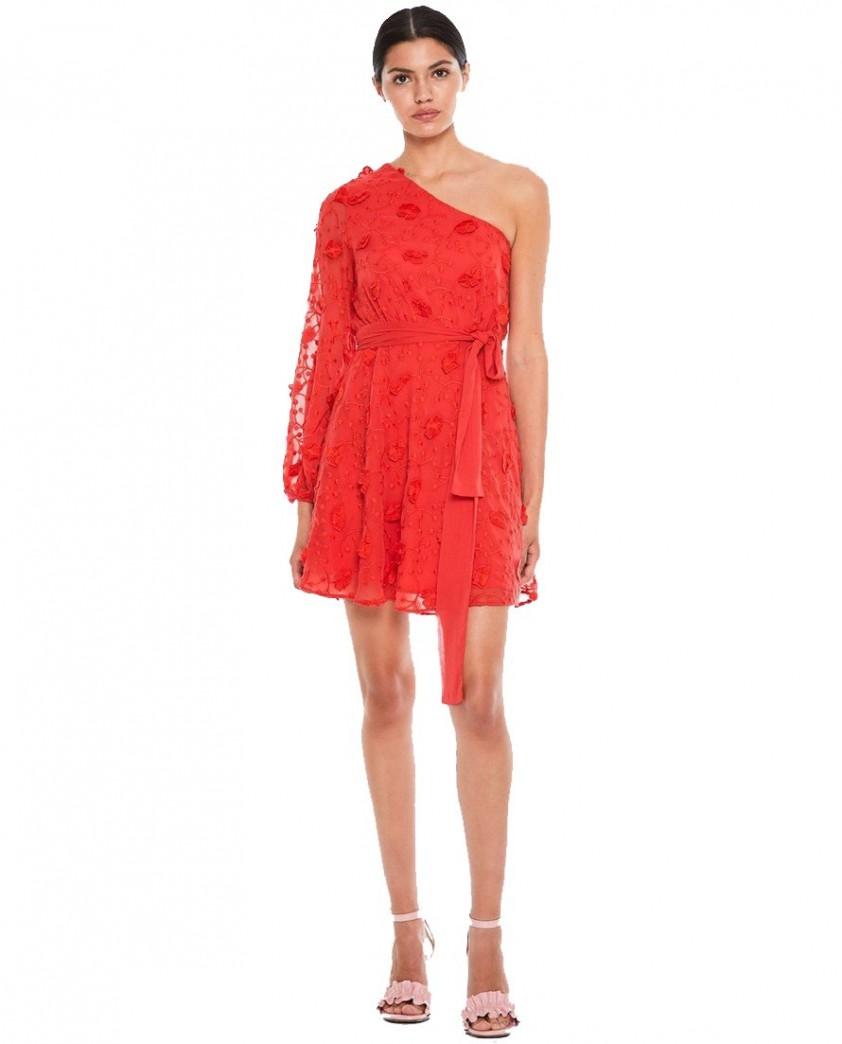 Talulah Scarlett Ruffle Mini Dress