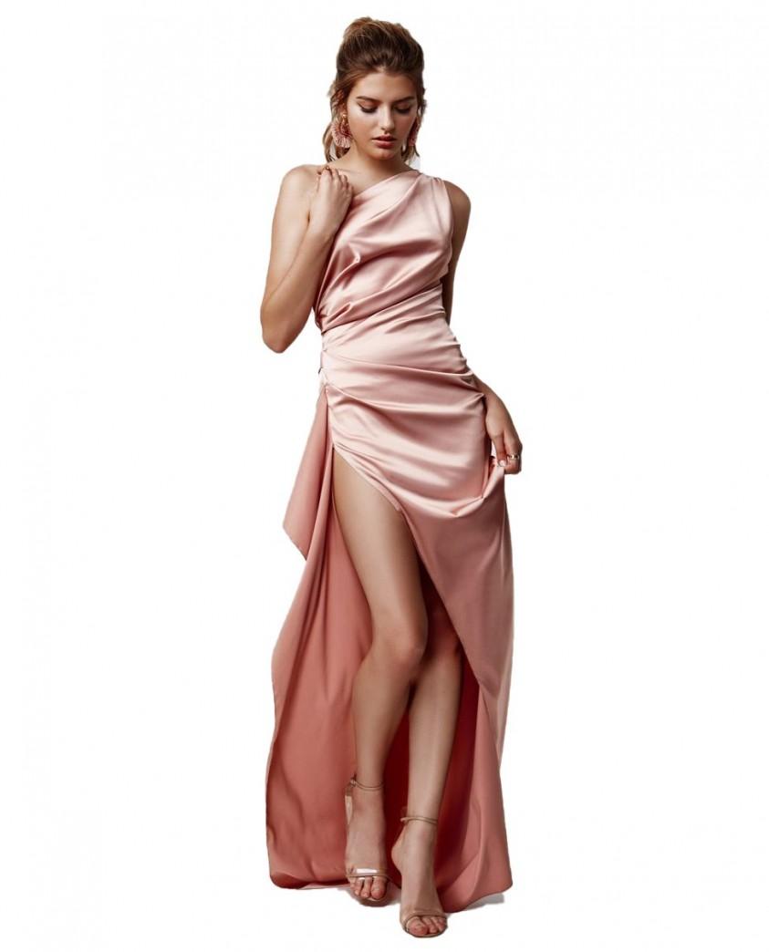 LEXI Samira Pink Maxi Dress