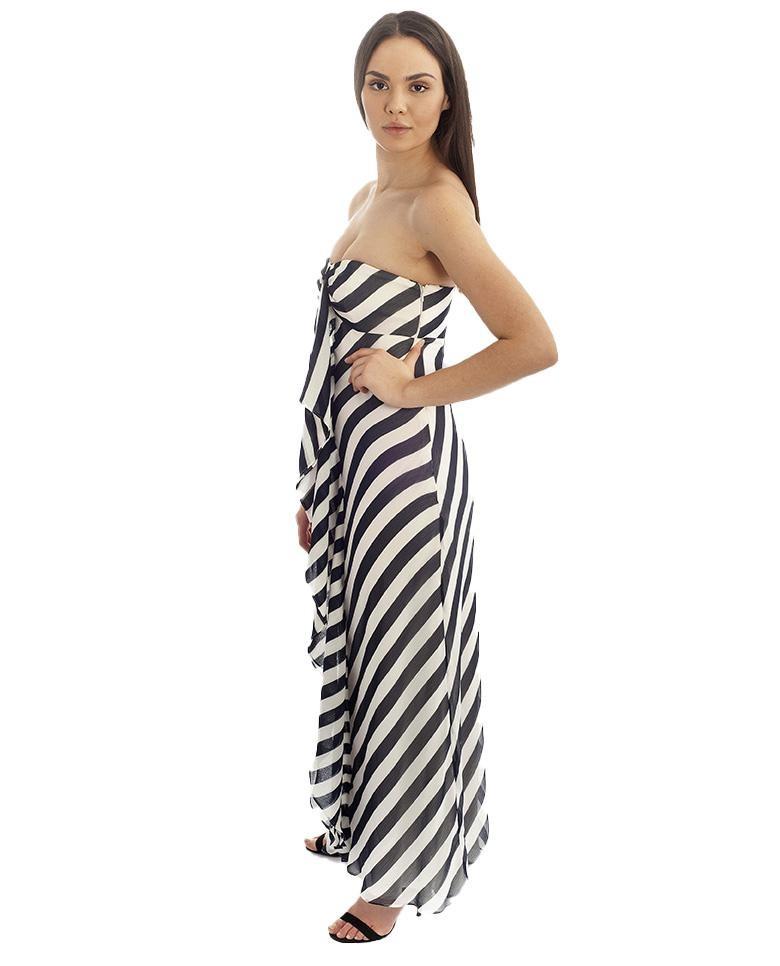 Coast Blue & White Striped Maxi