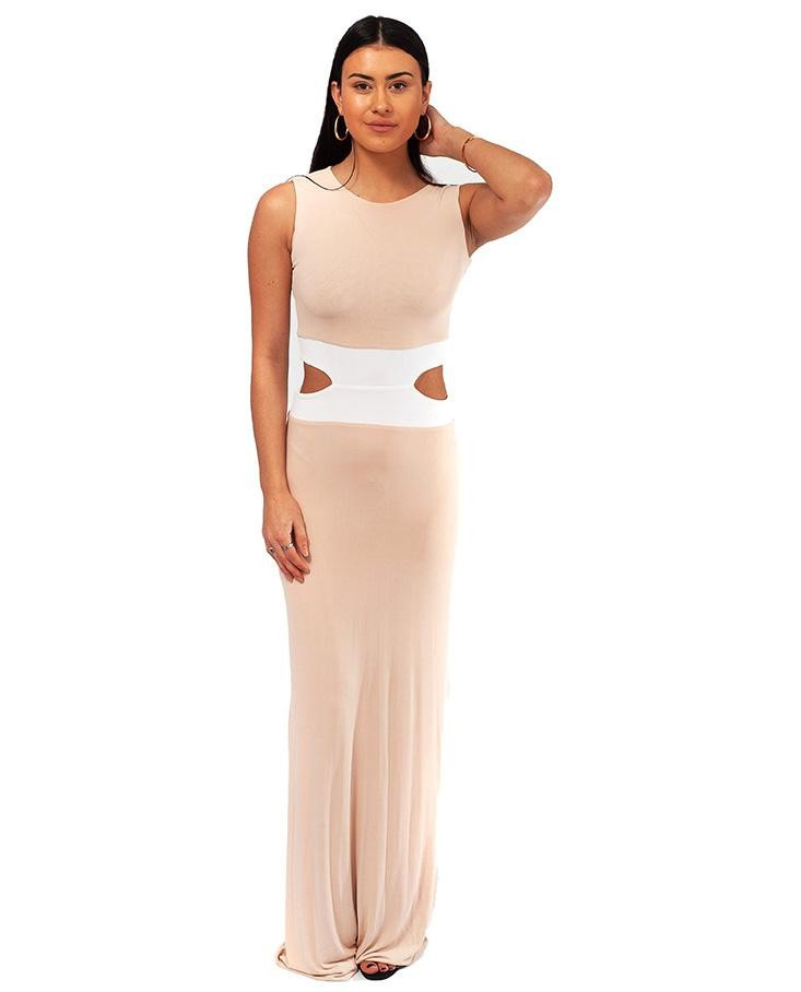 Gorgeous Couture Pale Pink Maxi