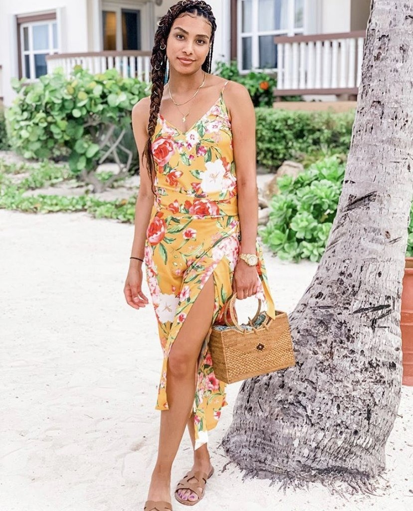 Never Fully Dressed Yellow Floral Co-Ord