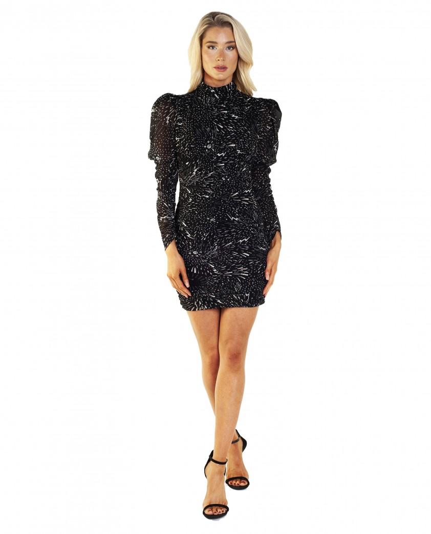 Bardot Constellation Dress