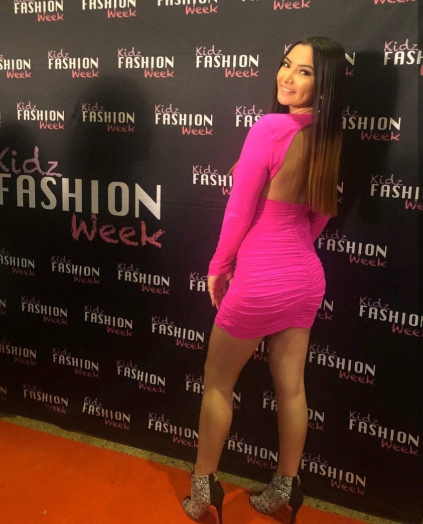 Bardot Elena Pink Shock Dress