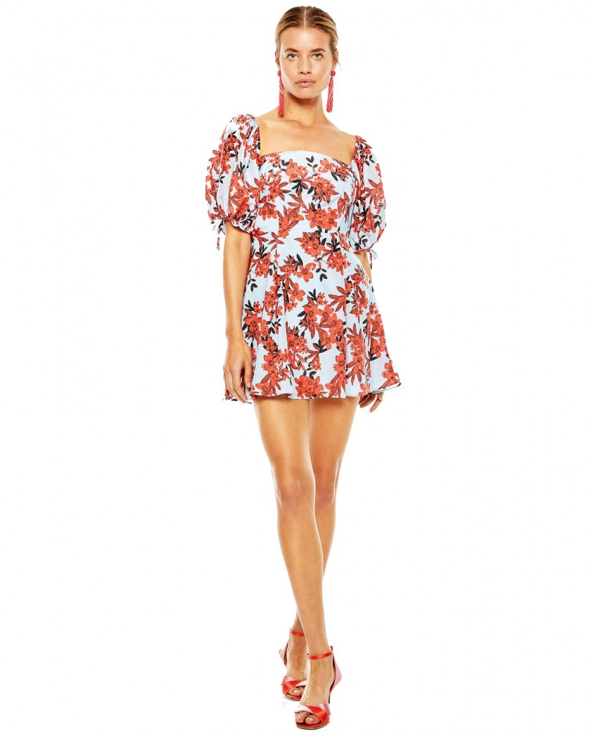 Talulah Red Sea Mini Dress