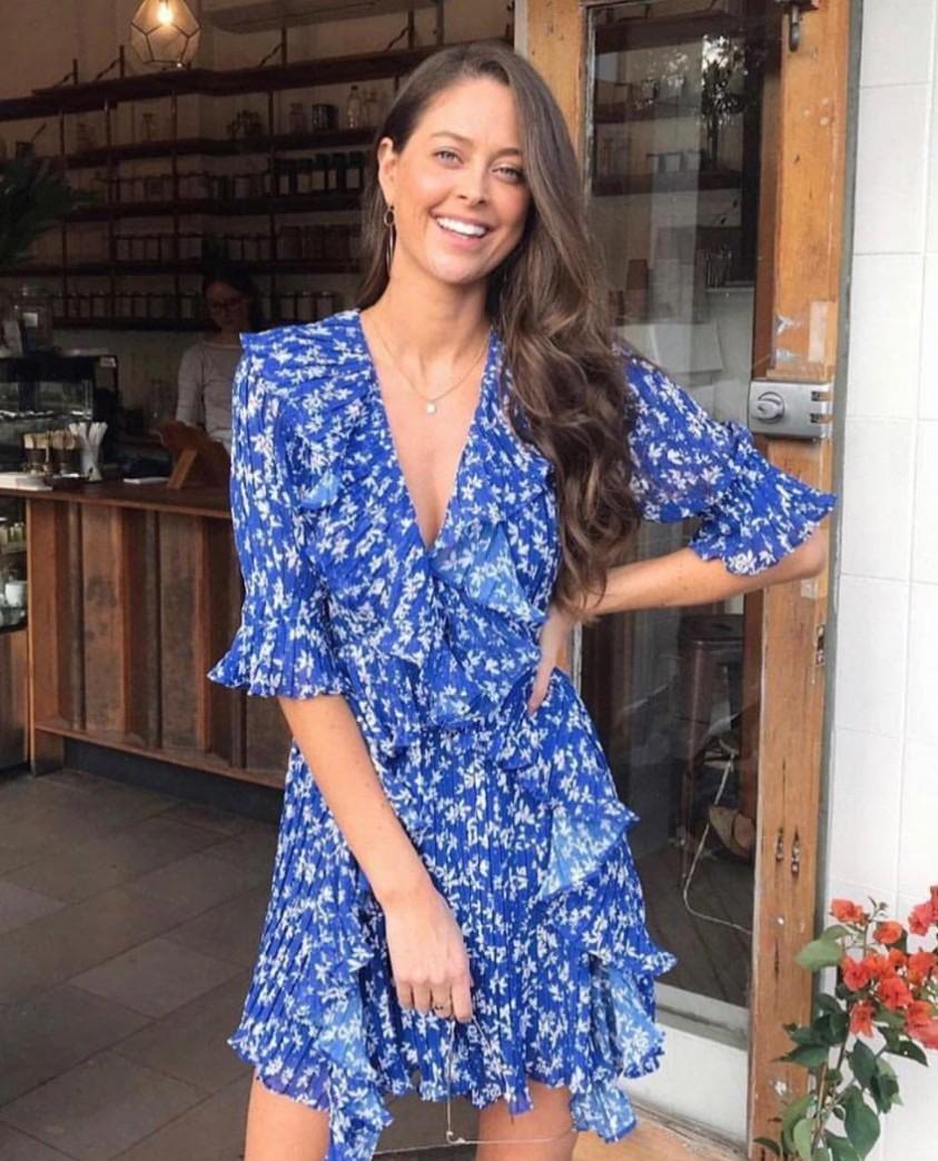 Talulah Mediterranean Minx Mini Dress