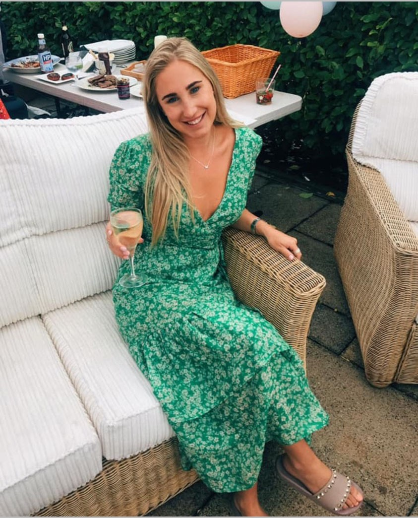 Talulah Green With Envy Midi Dress