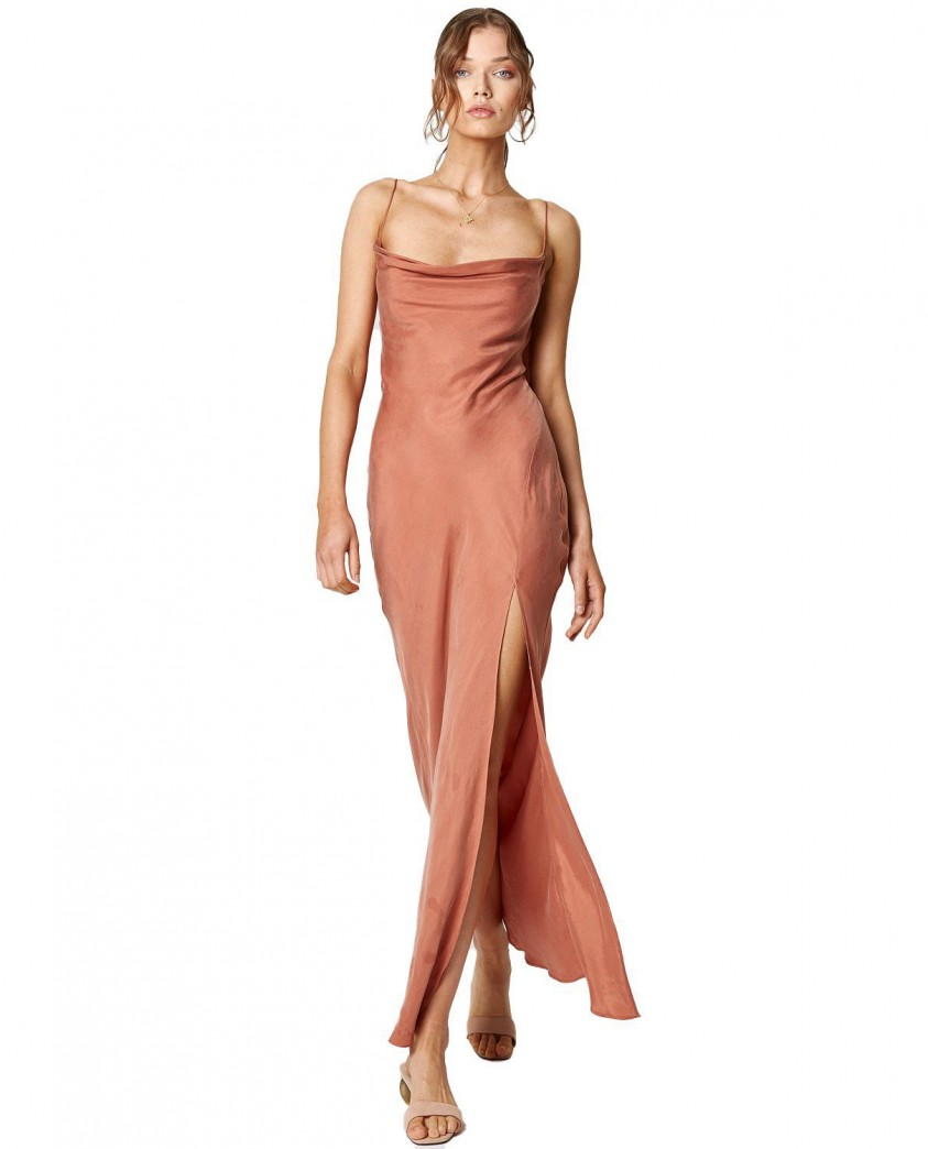 Winona Copper Dusk Maxi Dress