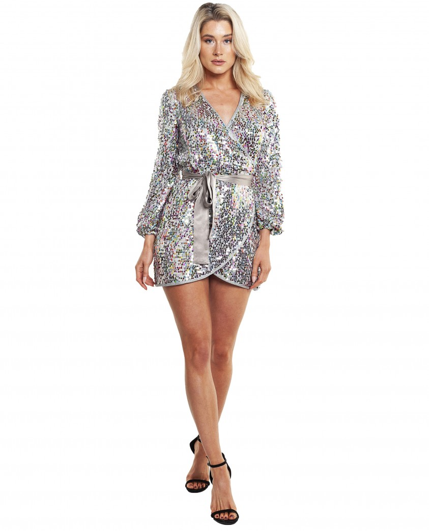 Saylor Val Wrap Dress