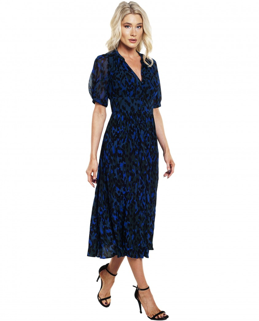 French Connection Inari Mix Printed Midi Dress