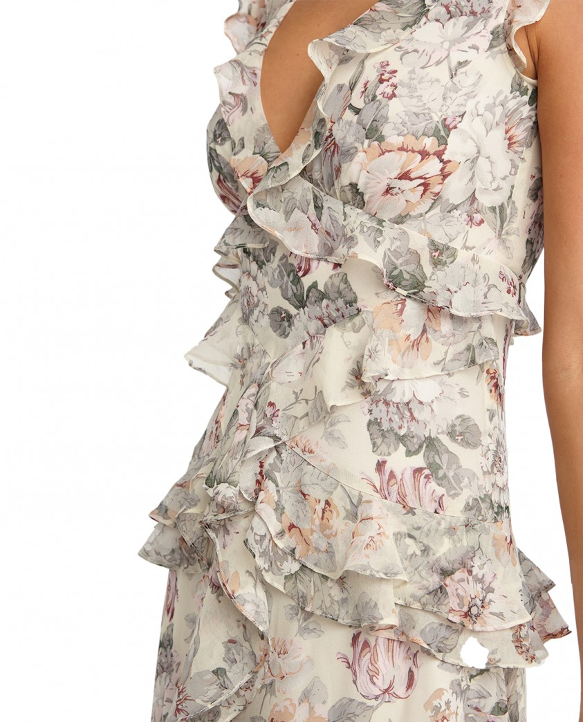 Bardot Ivory Nelly Floral Dress