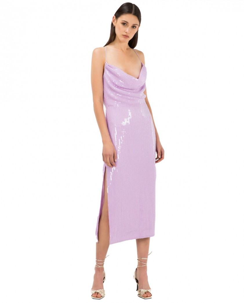 Misha Lilac Devon Dress
