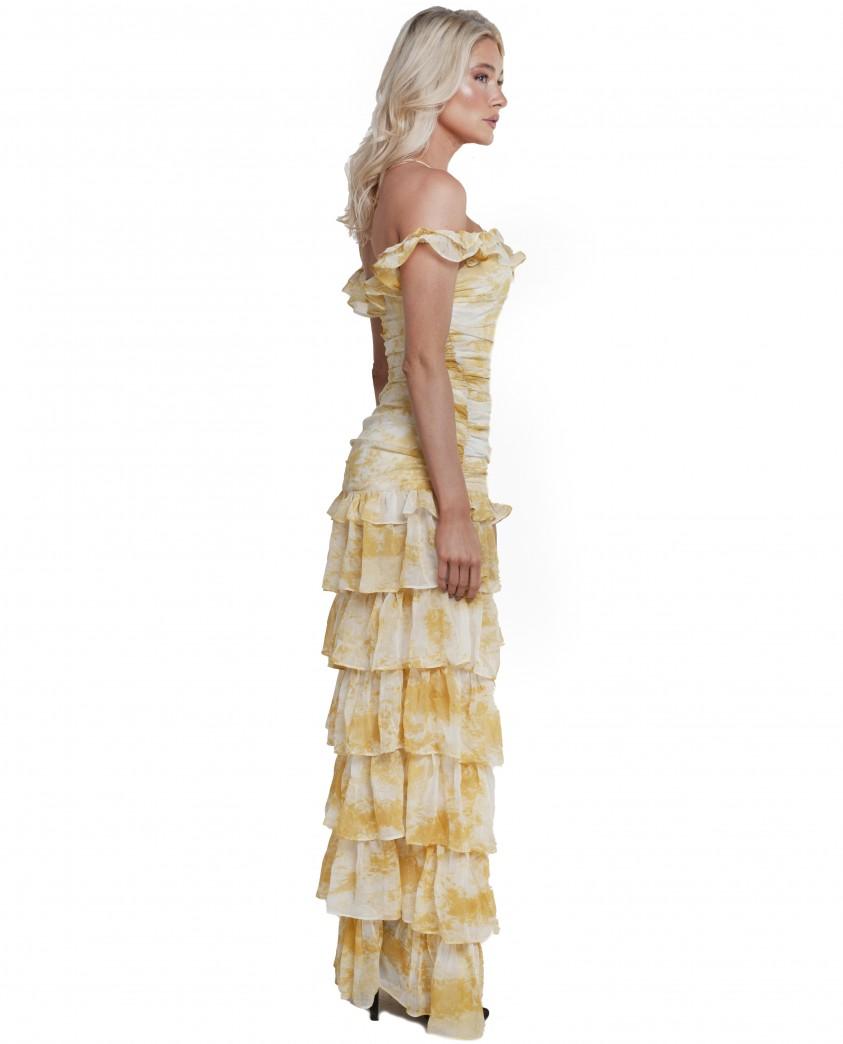 Atoir Gold Amber Back To Love Dress
