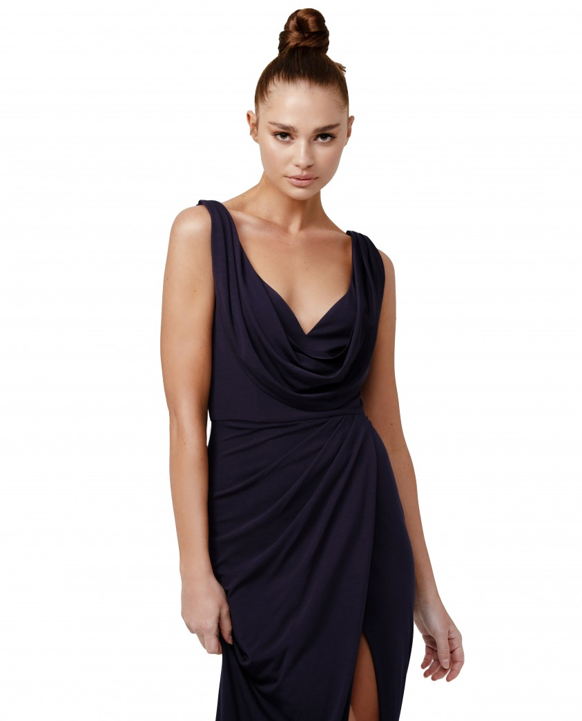 LEXI Navy Naida Dress